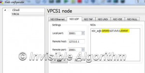 Tutorial using VPCS with GNS3