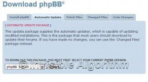 Update phpBB